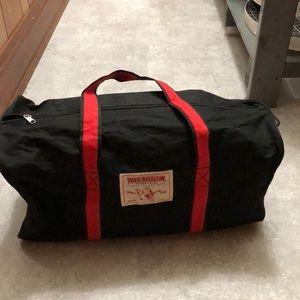 TRUE RELIGION duffel bag!